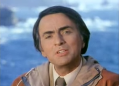A Supercut of Carl Sagan Saying Million, Billion, and