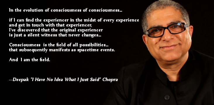 Study Shows That People Find Fake Deepak Chopra Quotations
