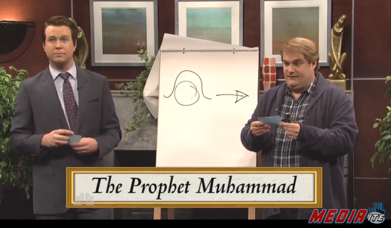 """em>Saturday Night Live</em>'s """"Draw Muhammad"""" Sketch Virtually Identical to Bit from Canadian Comedy Show"""