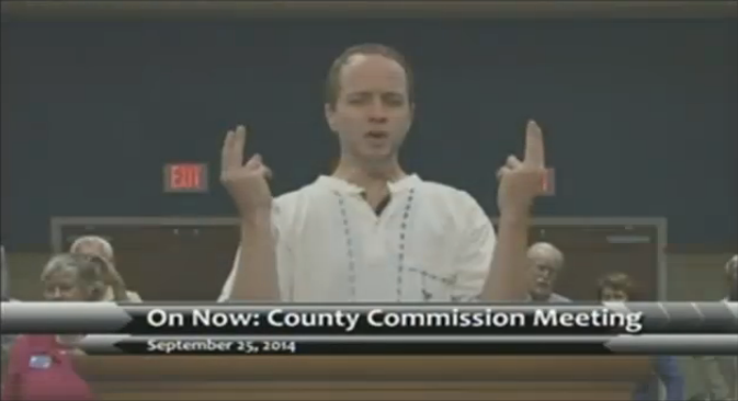 To Prevent Satanist From Speaking Pensacola Fl City Council May